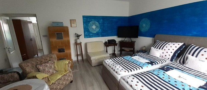 Modrý apartmán ve Vile Adámek Rožnov pod Radhoštěm 1153606457