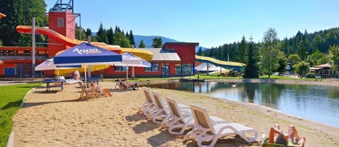 Aqua Park Špindlerův Mlýn-pobyt-Jarní balíček pro rodinu