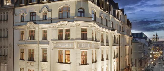 Art Nouveau Palace Hotel Prague Praha