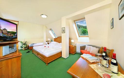 Hotel Praha Třílůžkový pokoj