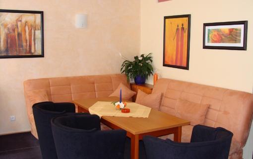 Hotel Sádek Hotelová kavárna