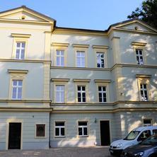 jižní průčelí - Praha