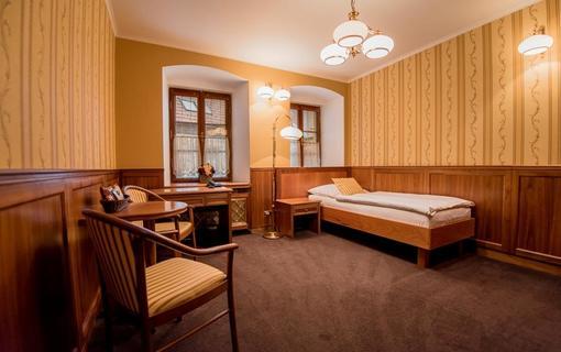 Hotel Octárna Jednolůžkový pokoj standard plus