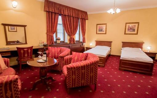 Hotel Octárna Dvoulůžkový pokoj standard plus