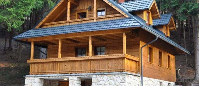 Chata Pod Loučkou Horní Lomná