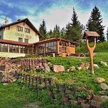 Chata na Luckém vrchu Telecí
