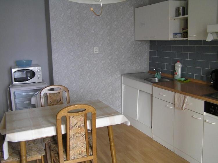 č.2 malý apartmán - kuchyn