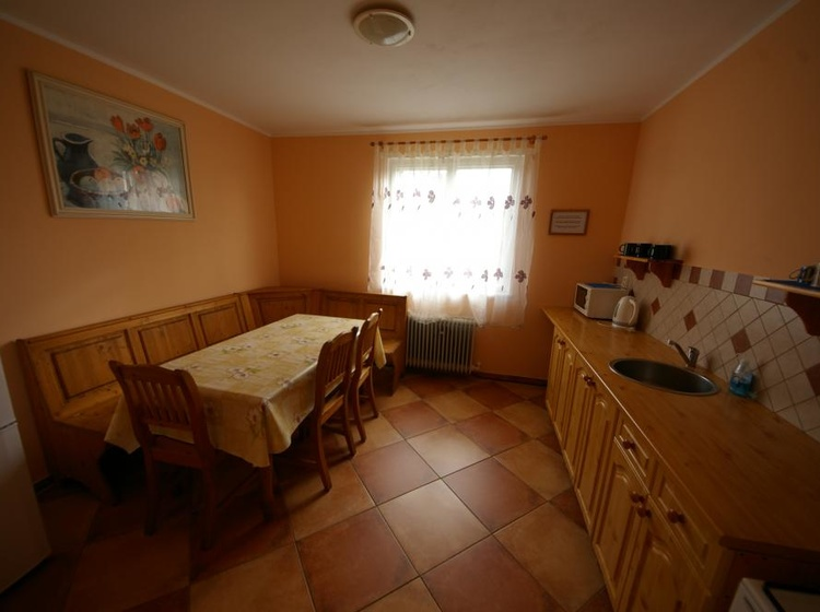 Domek - kuchyň