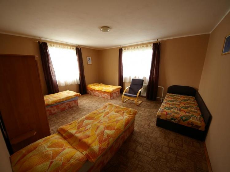 Domek - čtyřlůžková ložnice