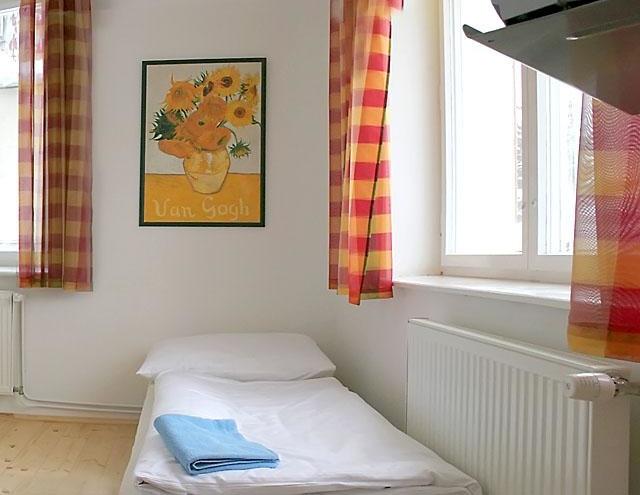 Ložnice, třílůžkový apartmán