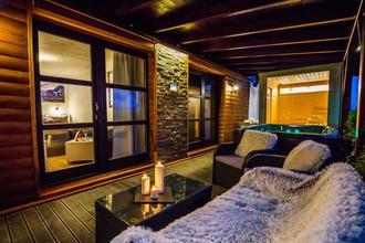 Penzion u Rechů Blansko-pobyt-Zahradní Wellness apartmá s vířivkou a finskou saunou